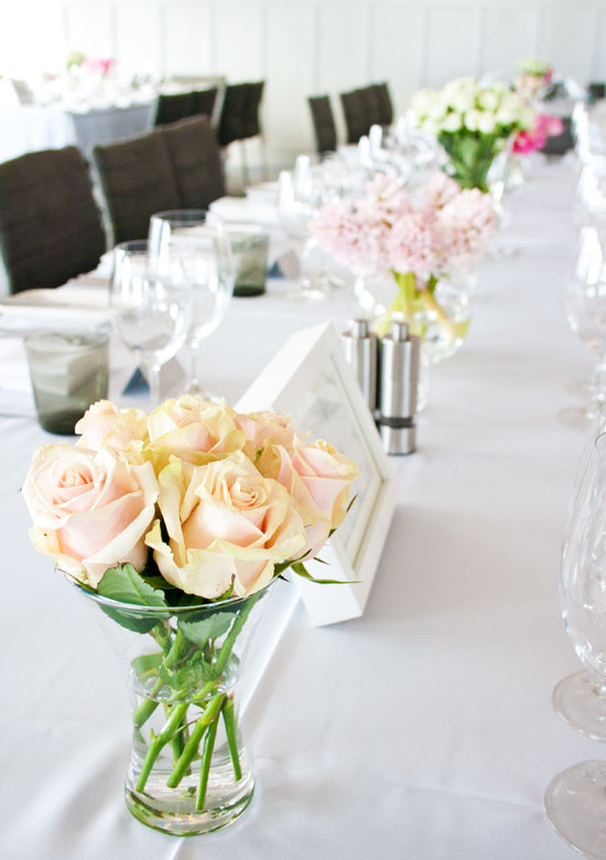 Reception Table - The Harbour Room