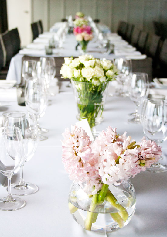 Table Setting - The Harbour Room