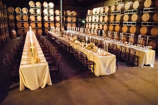 Willow Creek Winery Barrel Room